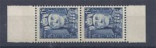 Tunisie - 1955 - Y&T n°395 paire de carnet - Lamine Pacha Bey - neuf*