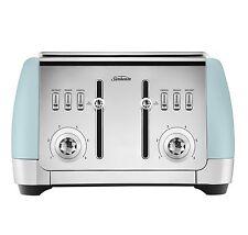 Sunbeam TA2240B London Collection 4 Slice Toaster - Blue