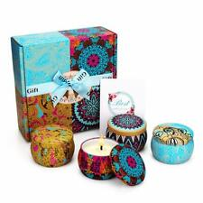 Mirror Scented Candles Portable Travel Tin Candles Women Essential Oil Lady Home