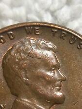 1957 LINCOLN WHEAT CENT - RETAINED CUD ON HEAD - INV#4633