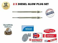 FOR TOYOTA AVENSIS 2.0 D4D + VERSO 1CD-FTV 1999-2006 NEW 2x DIESEL GLOW PLUG SET