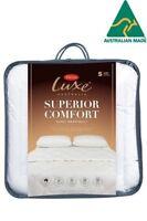 Tontine Luxe Superior Comfort Super Warm Polyester Doona|Duvet|Quilt -All Sizes