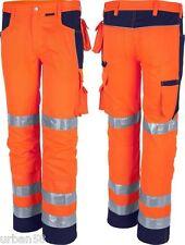 QUALITEX Arbeits-bundhose pro Warnschutz Orange/marine 48 61938TW048