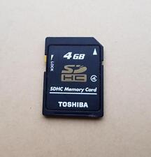 TOSHIBA Multi-Uso Tarjeta memoria SDHC 4gb Soporte GPS Cámara Japón SD HC
