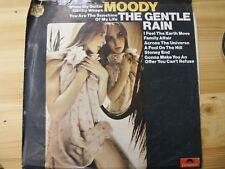 "2310 285  UK 12"" 33RPM 1973 THE GENTLE RAIN ""MOODY"" WHITE-LABEL/FACTORY EX"