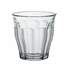Duralex 250ml Picardie Tumbler, Pack of 6, Clear Glass