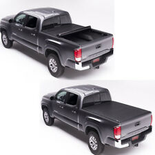 """Roll Up Lock Soft Tonneau Cover Short Bed 6.5ft 78"""" For Toyota 2007-2018 Tundra"""