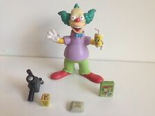 THE SIMPSONS - WORLD OF SPRINGFIELD - 'KRUSTY THE CLOWN'  SERIES 1 ACTION FIGURE