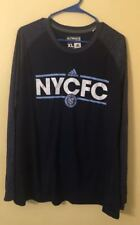 NYCFC New York City FC Ultimate Tee Adidas Soccer Shirt Size XL