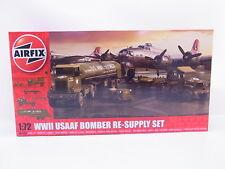 Lot 38494 | Airfix a06304 WWII USAAF Bomber Re-supply Set 1:72 ungebaut Nouveau neuf dans sa boîte
