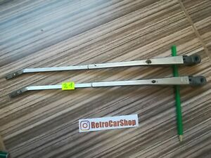 Windshield wipers leashes chrome LADA  2103 2106 2121 Hungary, 80-s,  2 piece.