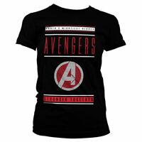 Avengers Offizielles Lizenzprodukt Stronger Together Damen T-Shirt