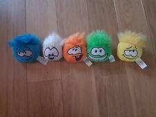 5 X Disney Club Penguin PUFFLES