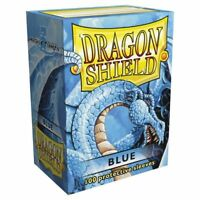 Dragon Shield BLUE Card Sleeves 100 Count Protective MTG Magic Pokemon ATM10003