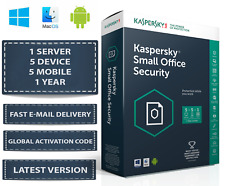 Latest Kaspersky Small Office Security - 1 Server 5 DEVICE + 5 MOBILE + 1 YEAR