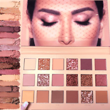 NEW HUDA BEAUTY NEW NUDE Eye Rose Shadow Palette 18 Colours Europe Box