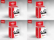 4 x Ink Cartridges For HP 10/11 DesignJet 110PlusNR 110PlusR 120 120NR 50PS 70