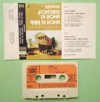 MC Musicassetta RESPIGHI Fontane di Roma/Pini di Roma DURIUM 1980 no lp cd dvd