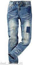 Girls Rub Jeans Bonprix Blue XS/S-6/8-34/36 Boyfriend straight trousers 65-68/5