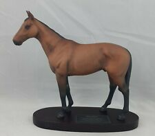More details for beswick mill reef model no. 2422 wood plinth, connoisseur series horse