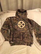 Pittsburgh Steelers CAMO Hoodies NEW Size Medium