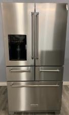 KitchenAid Krmf706Ess 25.8 Cu. Ft. 5 Door French Door Refrigerator