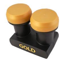 Micro Nuevo Gold Edition Monoblock Single LNB 1dB 0 3D HD Astra Hotbird