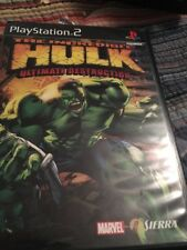 playstation 2 Ps2 Game The Incredible Hulk Ultimate Destruction Used