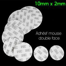 Adhésif Double Face épais en mousse EVA foam Autocollant Rond Cercle diam 10mm