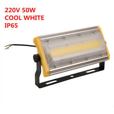 50w Waterproof LED Flood Light COB Chip Outdoor Lamp Cool White DIY Ip65 220v