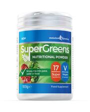 Supergreens Polvo con / 17 Súper Frutas & Verduras 100G Evolution Slimming
