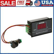Dc6 60v 12v 24v 36v 48v 30a Pwm Motor Speed Controller Start Stop Switch Te1256
