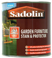 Sadolin Garden Furniture Stain & Protector  1 LT Can  ( New Stock)