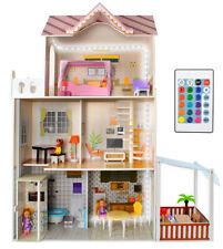 Puppenhaus Puppen-Villa  aus Holz 120cm hoch Mädchen Spielzeug ab 3 Jahren 9152