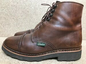 Paraboot Neuilly women's cap Toe Brown lace up boots size UK 4.5 | US 5.5