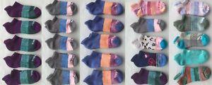 Bombas Women's Socks  Ankle Socks 5 Pack Multiple Colors Size SM F10717A