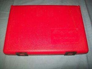 "New Snap-on Foam Case for 1/4"" 3/8"" SAE Metric Hex Torx Socket driver 236EFSET"