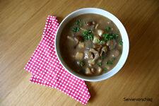 Schwammeeintopf, Pilze Suppe, 600g, lang haltb, Vollkonserve Camping, 6,50€/kg