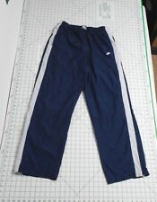 NIKE Windbreaker Pants - Men's Size L - Lined Running Athletic Bottoms