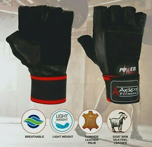 Arden Weight Lifting Gloves Gym Training Body Building Fitness With Strap 0001