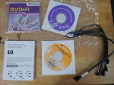 Lot of ROXIO Creator 9 Basic Edition, Win DVD, Blank DVDR and 3 SATA cables