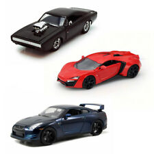 Dom & Brian Fast & Furious Car Set 2 - Three 1/24 Scale Diecast Model Cars