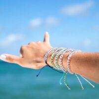 naturstein seil fesselt es freundschafts - armband transparente perlen armband
