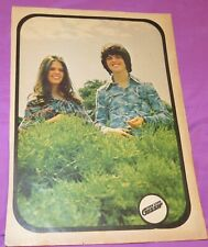 Donny & Marie Osmond / Hudson Brothers - Full Page Vintage Pin-up, Clipping