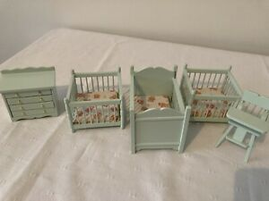 1/12th scale dolls house furniture nursery set