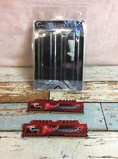 G.SKILL RIPJAWS X 16GB (2x8GB) DDR3-1600 (F3-12800CL10D-16GBXL) Memory Kit
