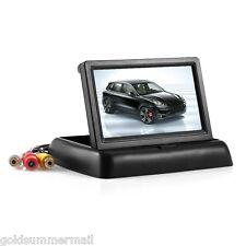 4.3'' Foldable Digital TFT LCD Car Rear View Monitor Display Screen PAL / NTSC