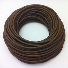 Textilkabel Einzelader 1x0,75mm² 1-adrig Braun EU Lampenkabel Design Kabel