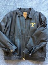 Iron Mike Ditka Leather Gear Sport Jacket Size L