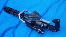 Vulcan M134 electric toy theme party prop cosplay minigun gatling spinning tube